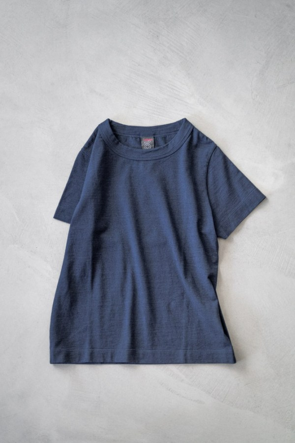 Homspun_Short Sleeve T-shirt_indigo_top