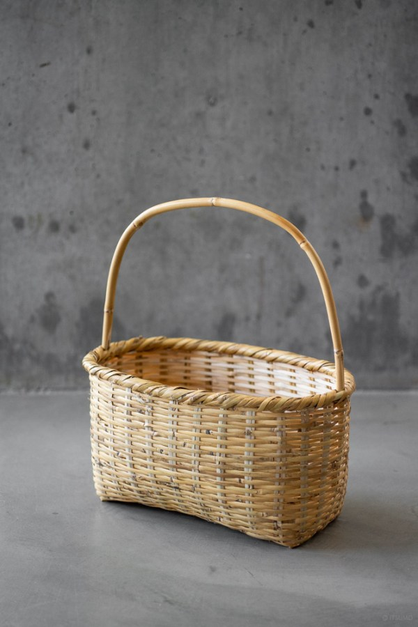 Aizu Single Handle Basket_top