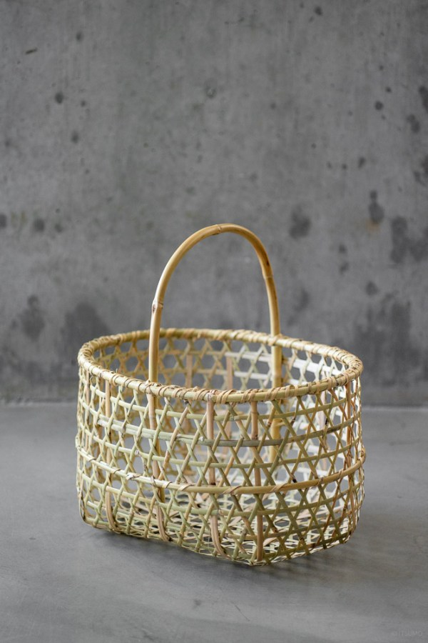 Bamboo Orchard Basket_top