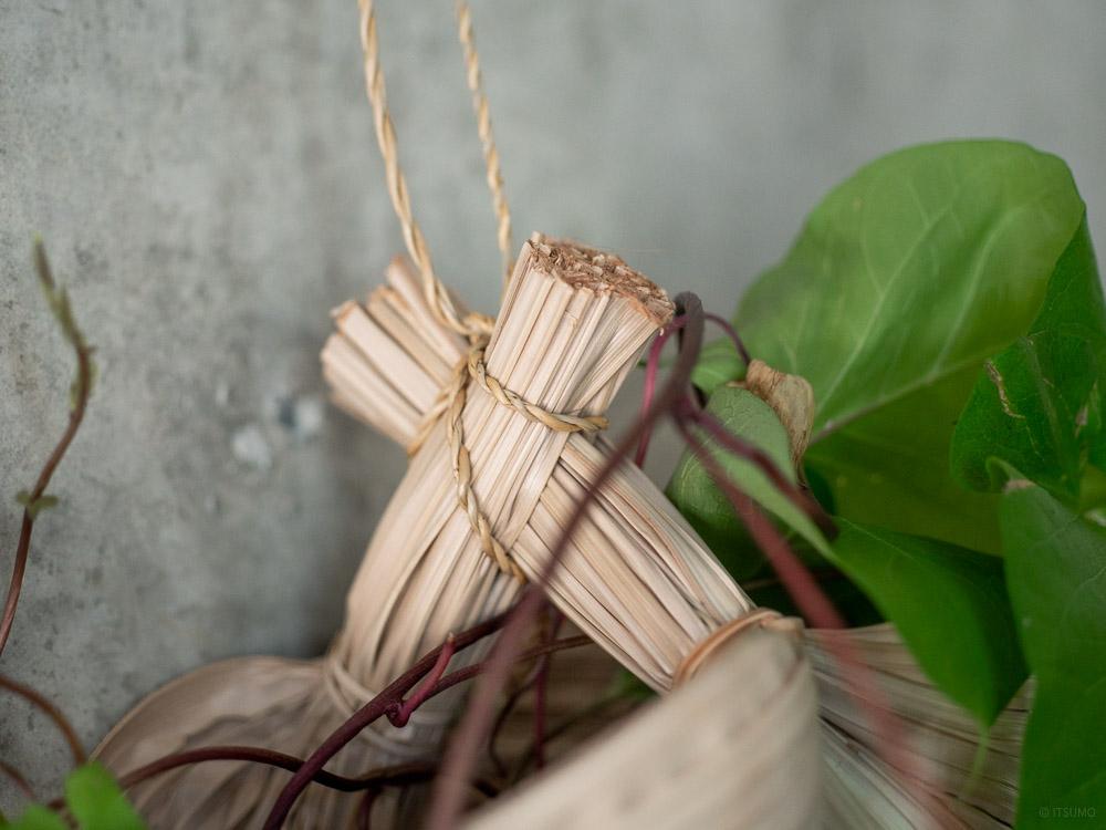 Nipa Palm Hanging Basket