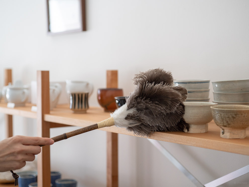Ostrich Feather Duster - M