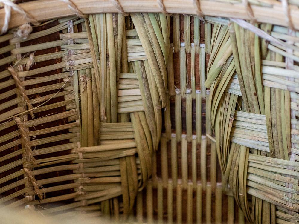 Sakura Kuzu Bamboo Basket-3