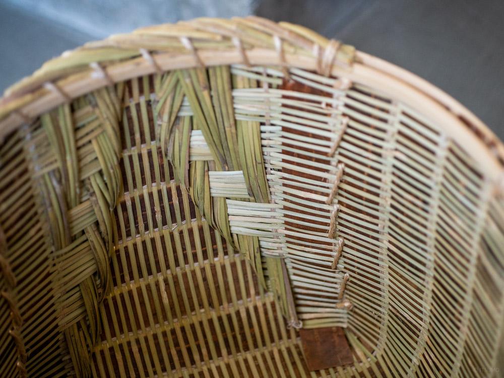 Sakura Kuzu Bamboo Basket-4