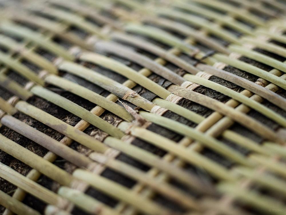 Sakura Kuzu Bamboo Basket-6