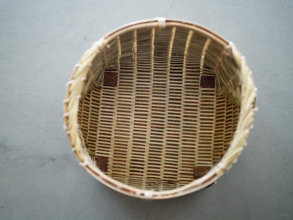 Sakura Kuzu Bamboo Basket-9