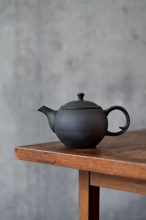 Azmaya_Round Teapot with Back Handle_top