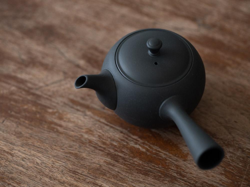 Azmaya_Round Teapot with Side Handle