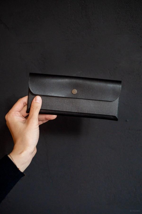 Postalco_Snap Pen Case_black_top