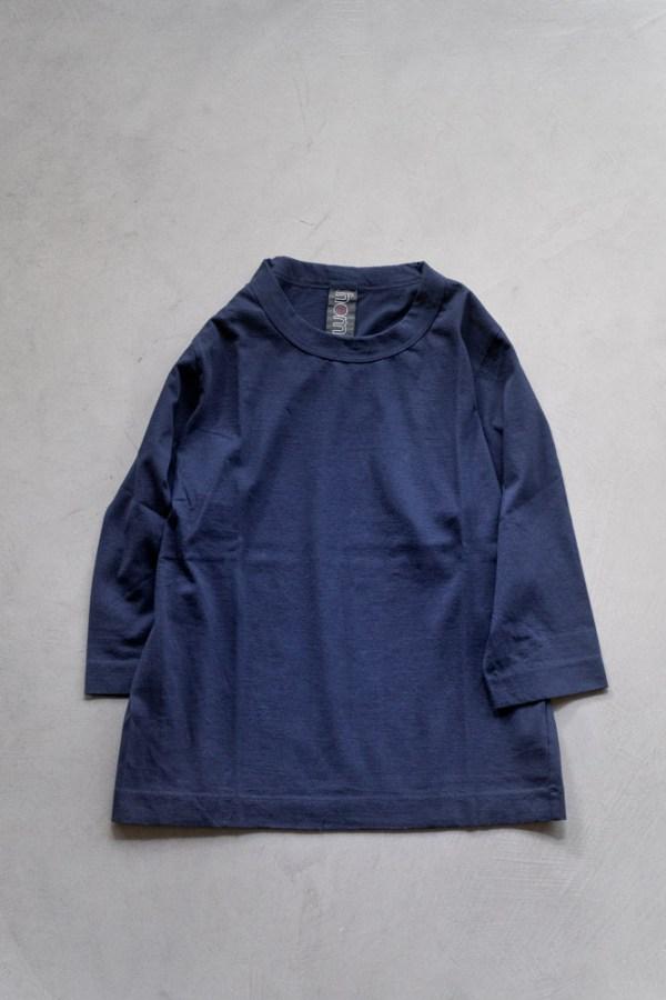 Homspun_3-4 Sleeve T-shirt_navy_top