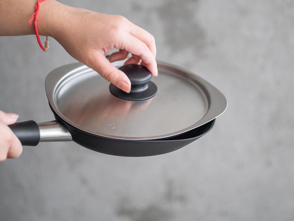Sori Yanagi_Magma Plate Iron Frying Pan - 18cm