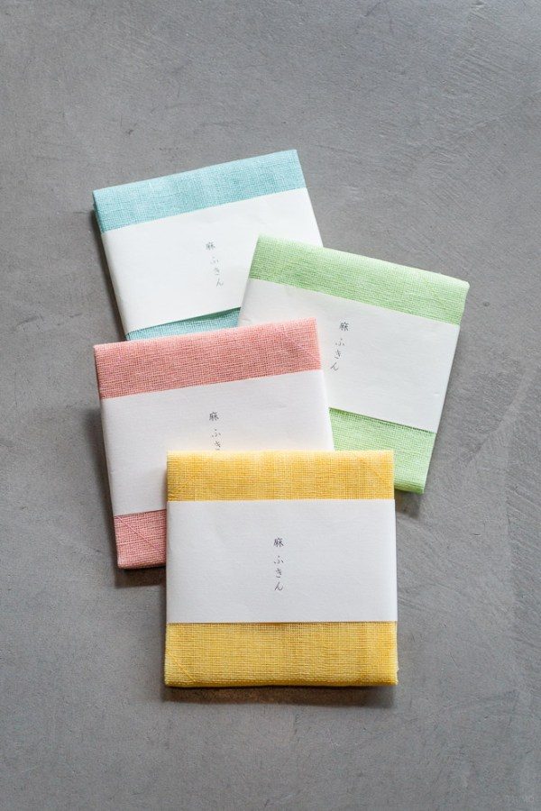 Okaimafu_Linen Kitchen Cloth_Colours_top