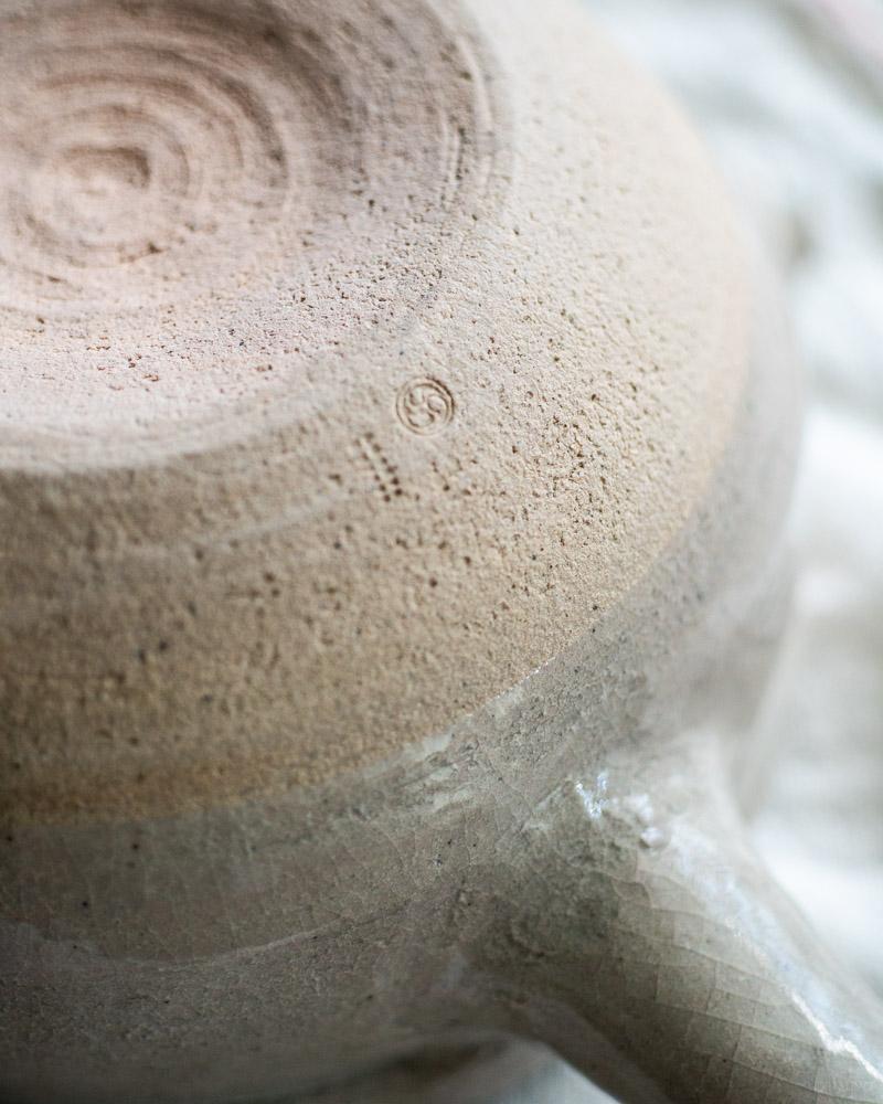 azmaya-iga yukihira pot-igaware ceramic donabe-sekkai light grey-5