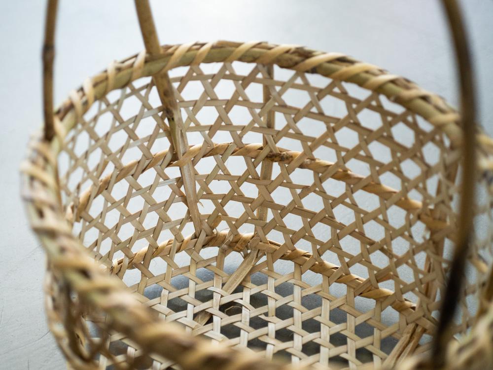 Aizu Oshin Bamboo Basket-8