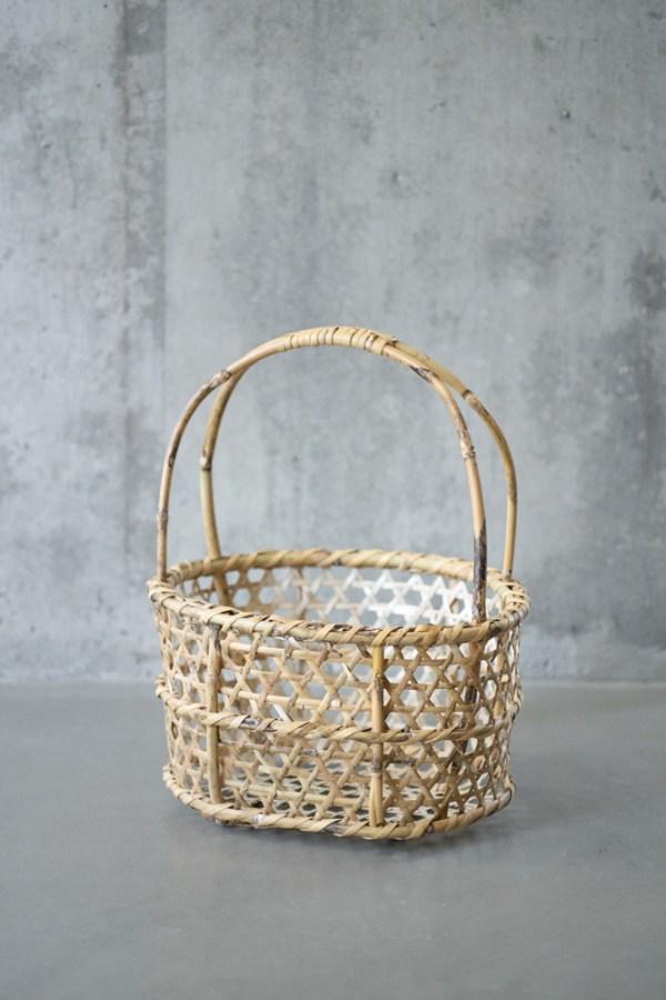 Aizu Oshin Bamboo Basket