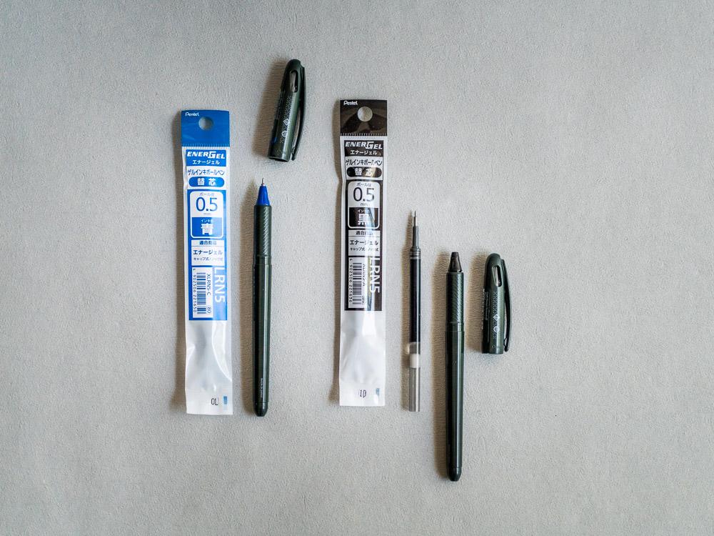 craft design technology_energel tradio pen_refill ink_black blue-6