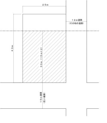 建築士道路斜線1