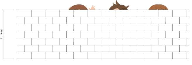 建築士試験高さ制限の塀2