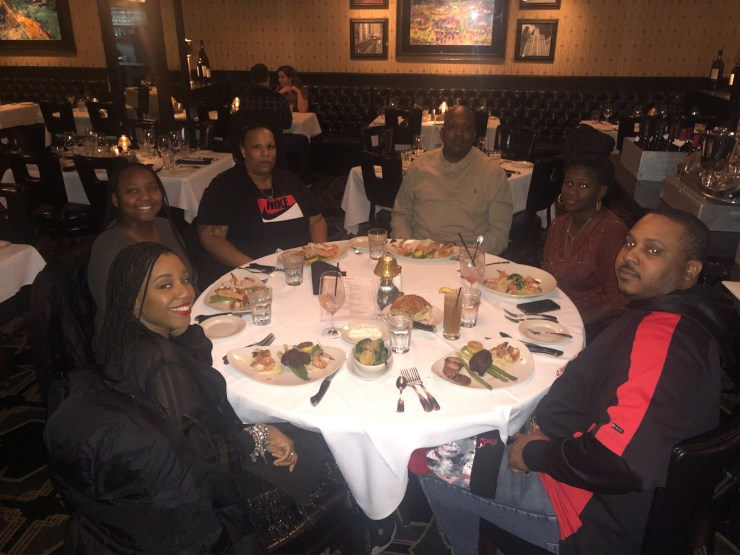 Morton's Steakhouse Dinner picture