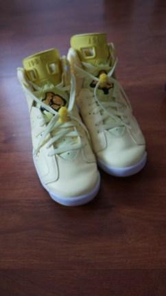 Citron Yellow Jordans