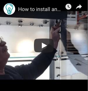 How to Install Display Case Doors