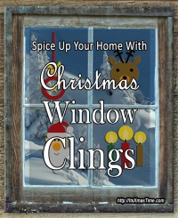 Christmas Window Clings Spice Up Your Home - It's ...