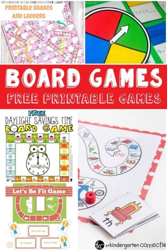 Fun And Free Printable Board Games Itsy Bitsy Fun