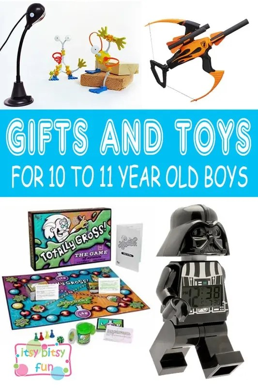 Best Gifts for 10 Year Old Boys in 2017 - Itsy Bitsy Fun