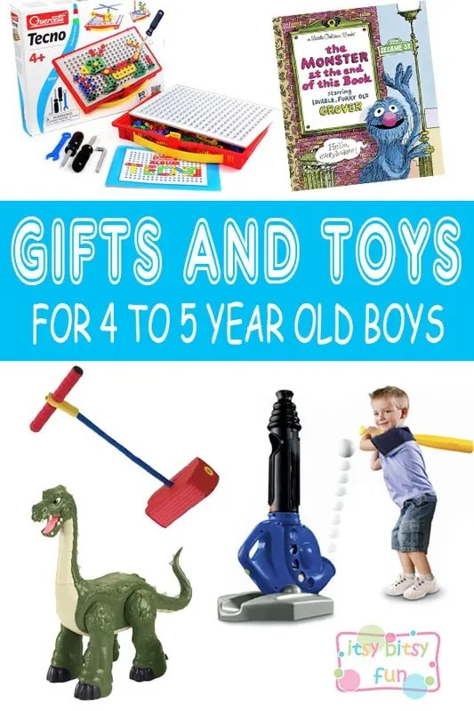 Best Christmas Gifts For 5 Year Old Boy