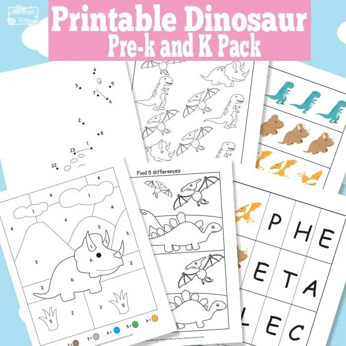 Color Pattern Worksheets For Kindergarten