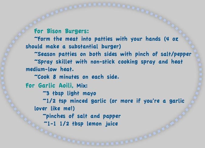 bisonburgers revised