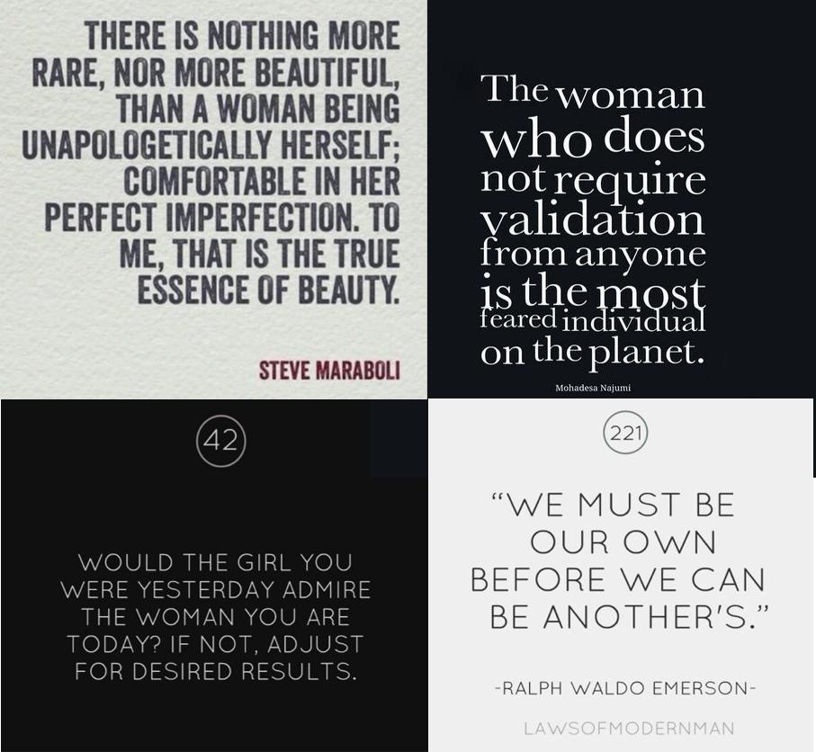 self love, respect, woman