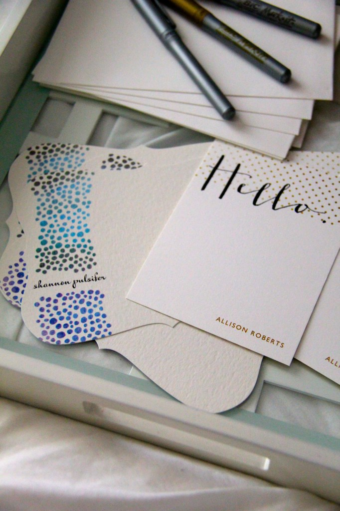 tiny prints stationary
