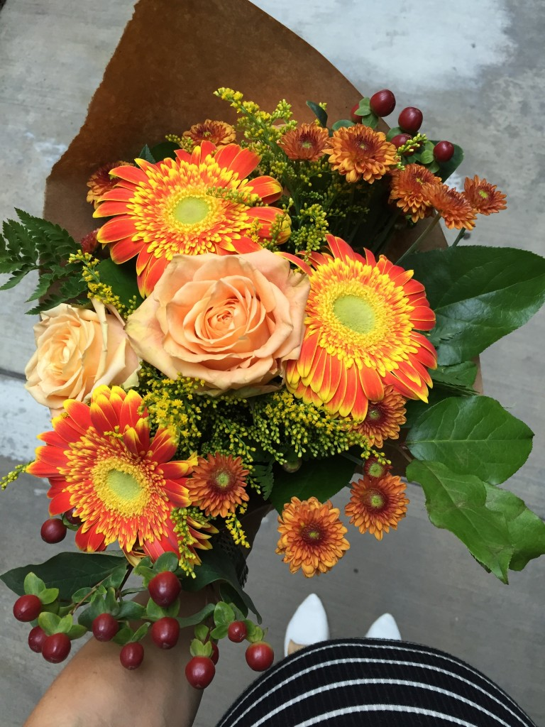 fall bouquet, itsy bitsy indulgences