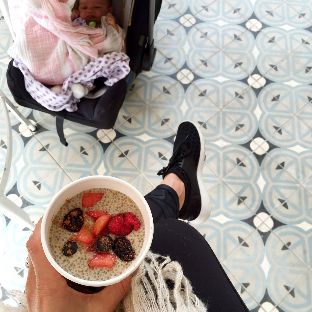 cafe gratitude, chia pudding, itsy itsy indulgences