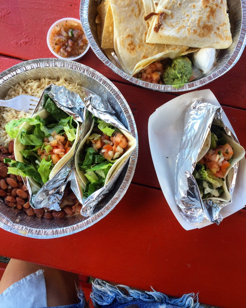 north shore fish tacos, itsy bitsy indulgences