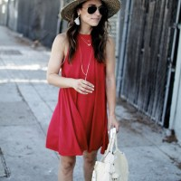 Little Red Dress || 4th Of July Inspo