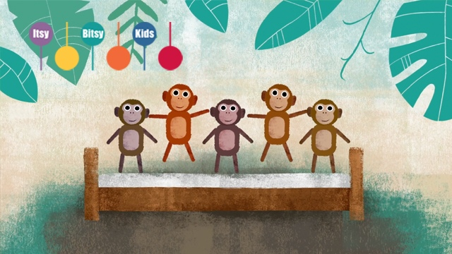 Lead Sheet Five Little Monkeys With Chords For Free ItsyBitsyKids