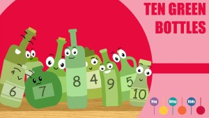 Ten Green Bottles Hanging On The Wall Sheet Music With Chords And Lyrics
