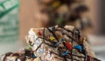 Salty-Sweet Peanut Butter Magic Bars