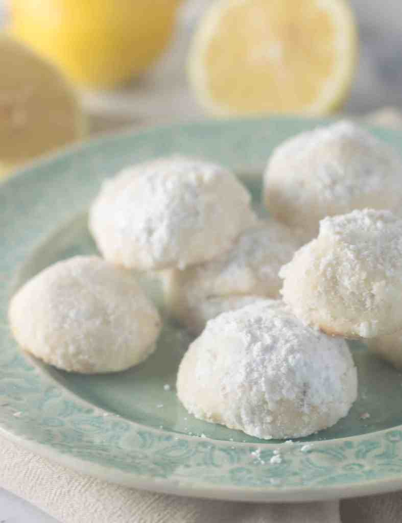 Lemon meltaway cookies are a light, bright cookie that just melts in your mouth--a perfect dessert for hot, sunny summer days.