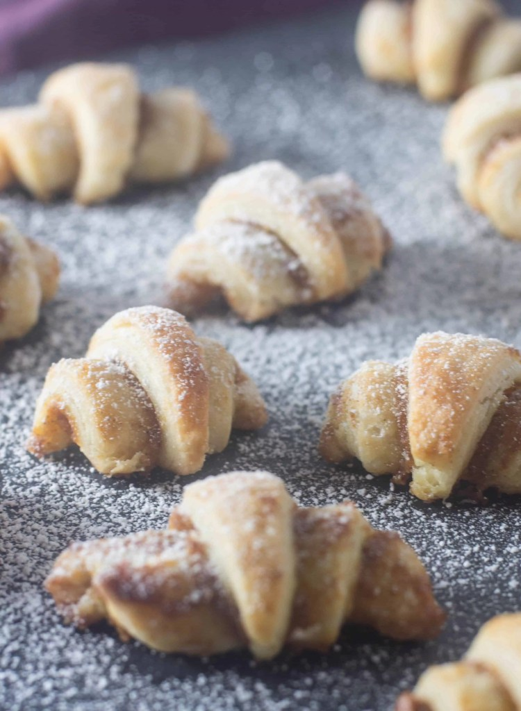 Pumpkin spice rugelach are the perfect little cookie/pastry/delicious dessert to usher in fall. Whip up a batch this week; you'll be so glad you did.