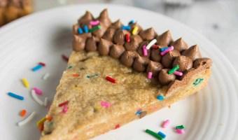 Funfetti Peanut Butter Cookie Cake