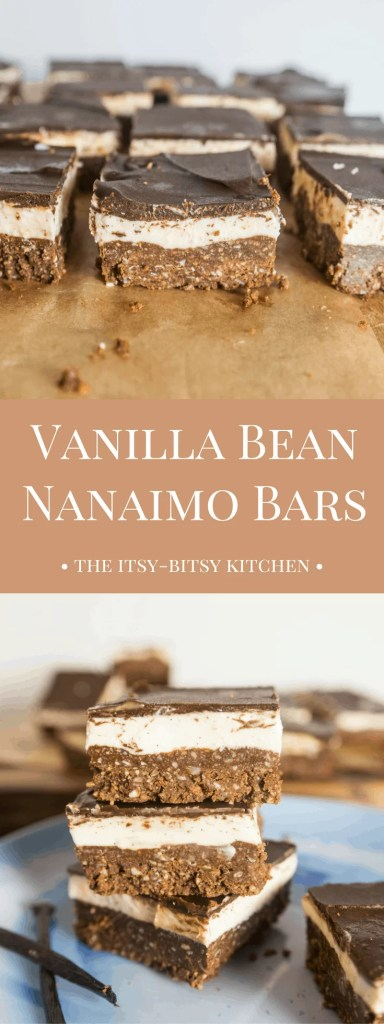 From their chocolate crust, to their chocolate glaze, to their custard filling, Vanilla Bean Nanaimo Bars are a no-bake cookie sure to please any dessert lover!