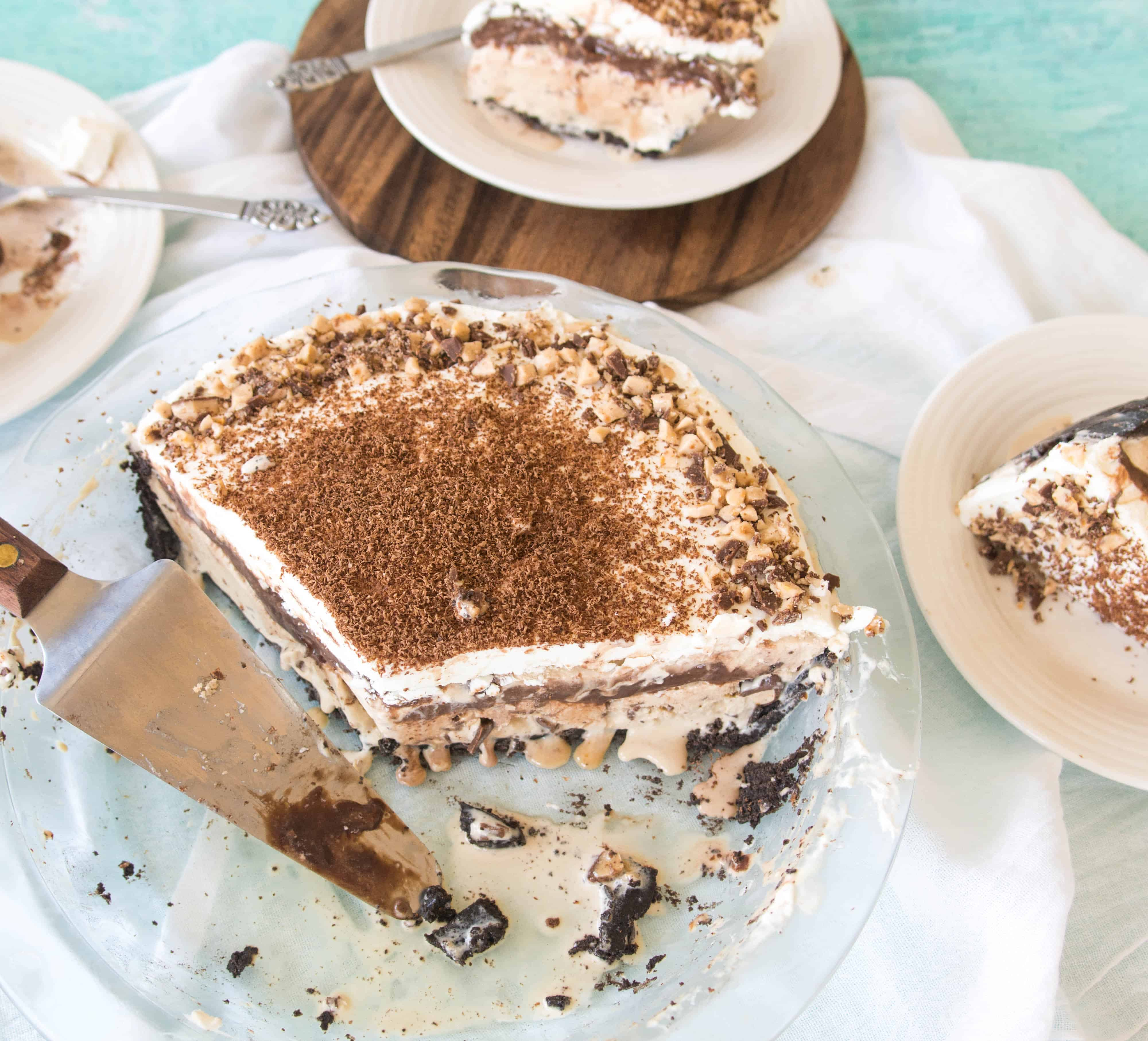 Easy Coffee-Toffee Ice Cream Pie