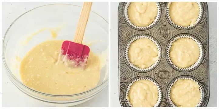 how to make gluten-free coconut cupcakes 3