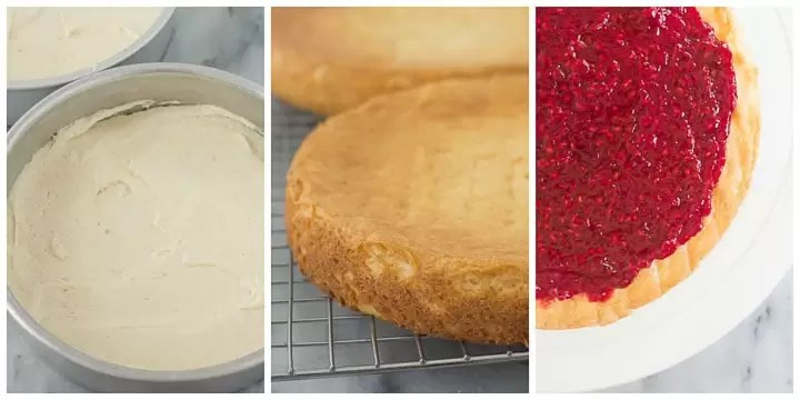 how to make white chocolate cake layers