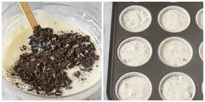 how to make mini oreo cheesecakes step by step 2