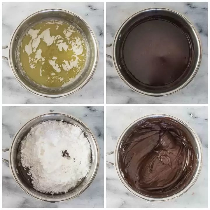 how to make easy chocolate frosting step by step