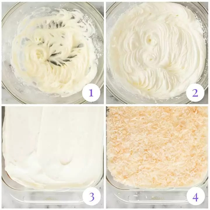 how to make stabilized whipped cream frosting