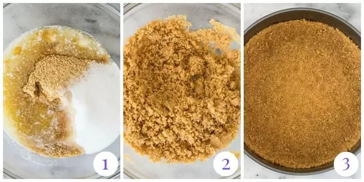 how to make graham crumb crust